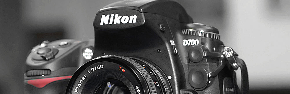Nikon Contax Banner, no adapter