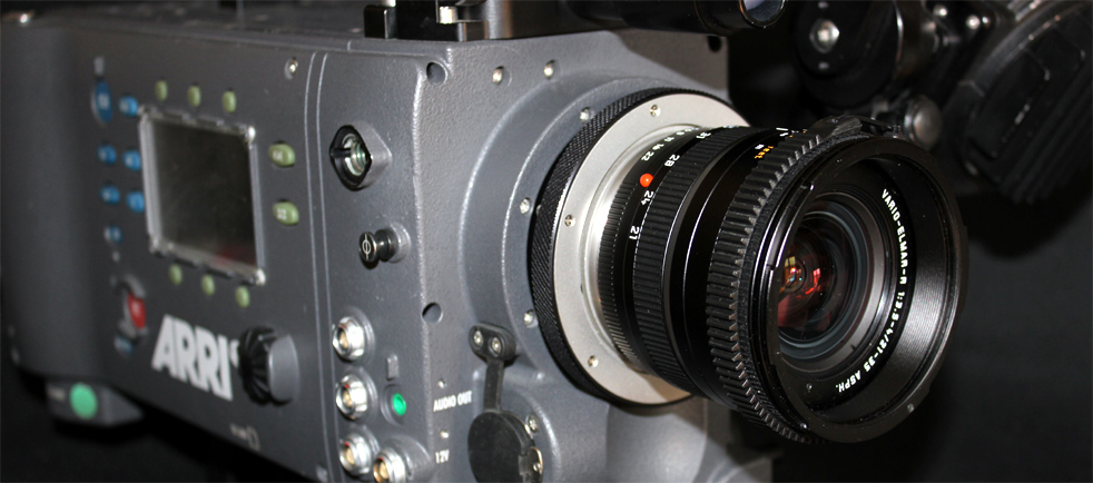 Leica lens on ARRI Alexa camera
