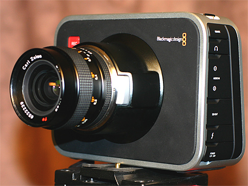 Blackmagic Canon, no adapter