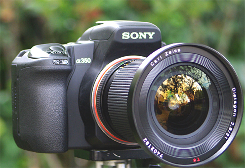 Contax Sony 21, no adapter