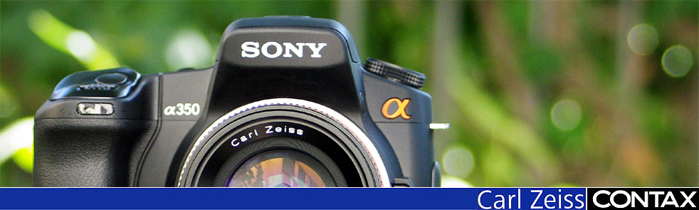 Sony Contax Banner, no adapter