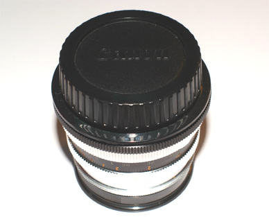 Canon cap on Icarex