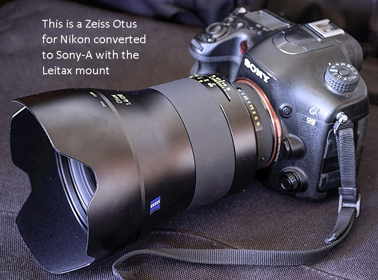 Otus for Sony-A