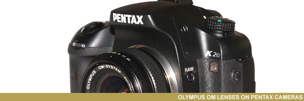 Zuiko OM Pentax mount , no adapter