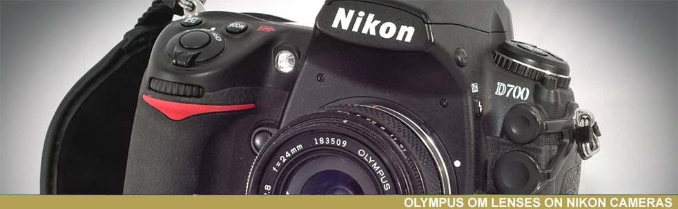 Zuiko OM Nikon mount , no adapter